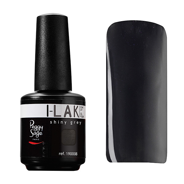 I-LAK color Shiny grey 15 ml