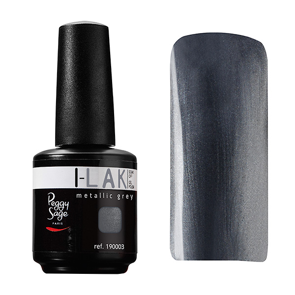 I-LAK color metallic grey 15 ml