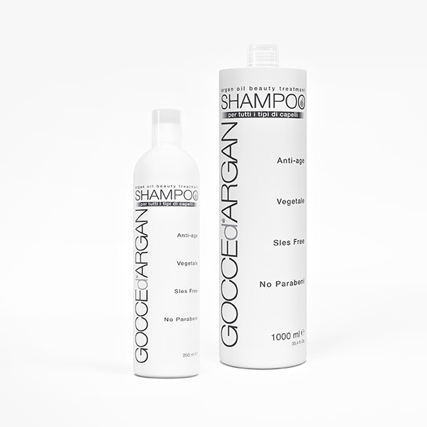 Shampoo Gocce d Argan 1 lt